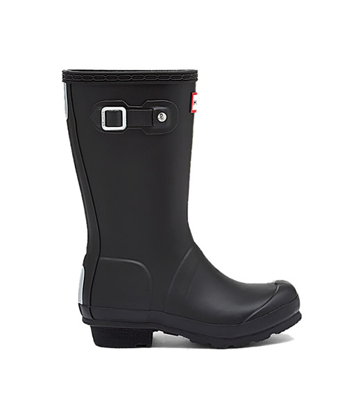 Black Young Hunter Wellingtons