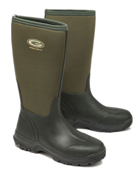 Grubs Frostline Green Wellingtons