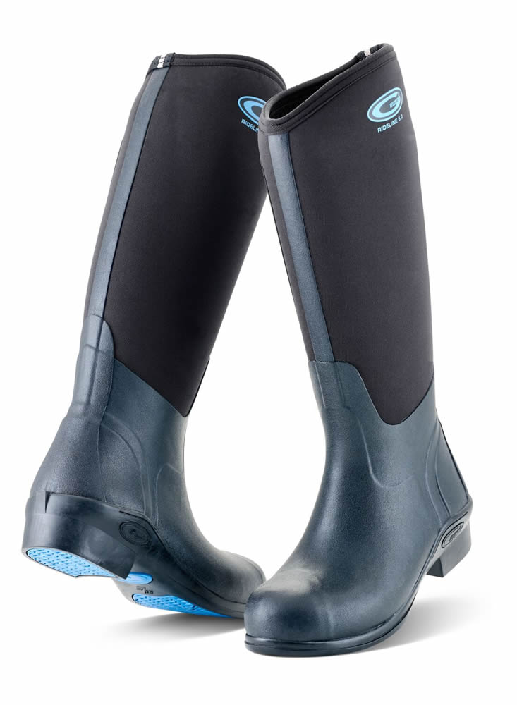Grubs Rideline Black Riding Boots