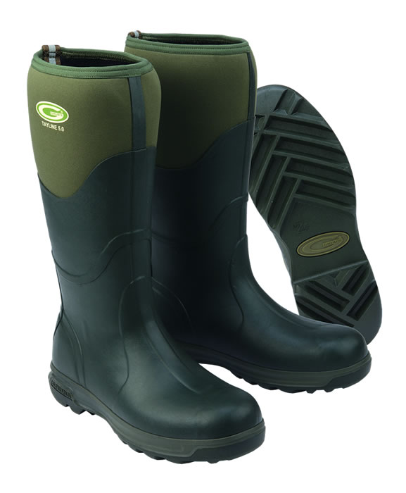Grubs Tayline Green Wellingtons