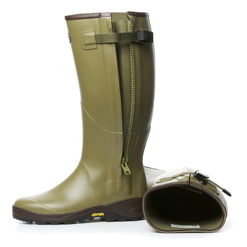 Gumleaf Royal Zip Wellingtons