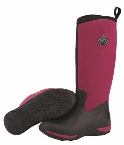 Maroon Muck Boot Arctic Adventure Wellingtons