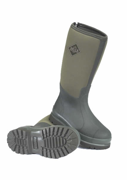 Muck Boot Chore Hi Moss Green Wellingtons