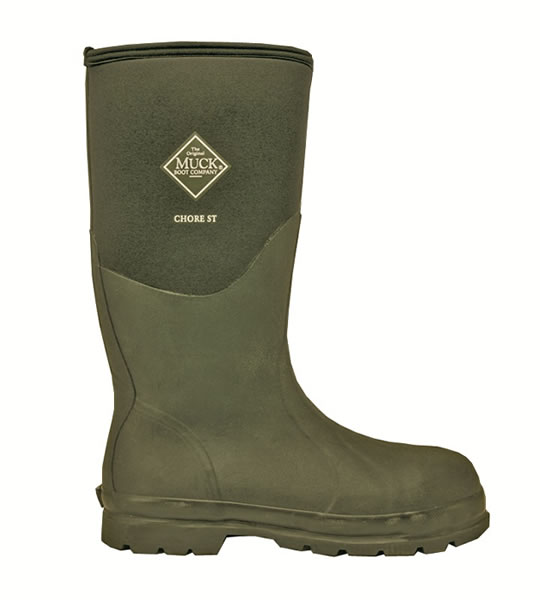 Muck Boot Chore Steel Toe Safety Wellingtons