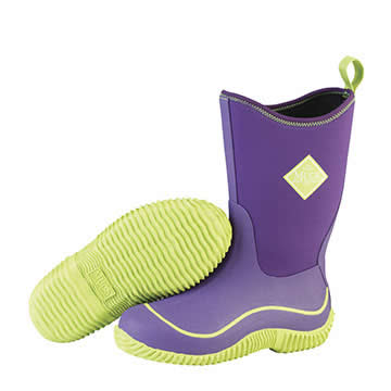 Muck Boot Hale Kids Purple And Green