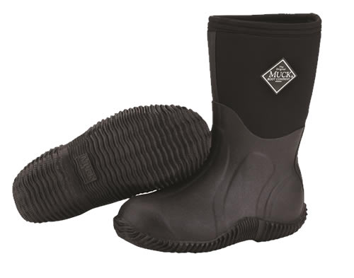 Muck Boot Arctic Sport II Kids Black Wellingtons