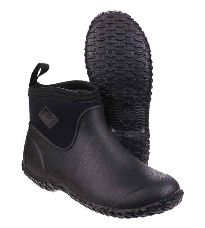 Muck Boot Mens Muckster II Ankle Boots Black
