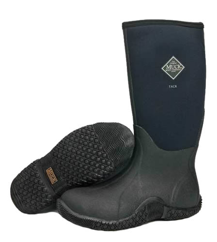Muck Boot Tack Classic Black Wellingtons