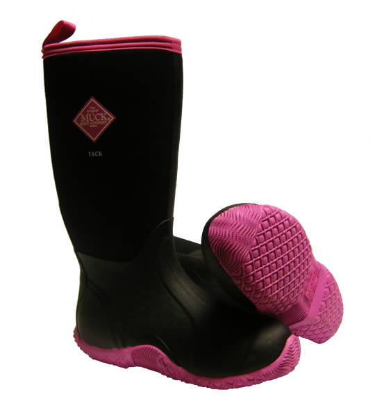 Muck Boot Tack Classic Hot Pink Wellingtons