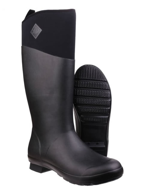 Muck Boot Tremont Tall Black Wellingtons