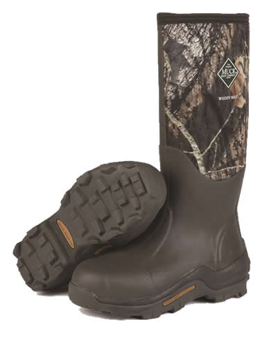 Muck Boot Woody Max Camo Wellingtons