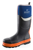 BuckBootz Safety Wellingtons Blue