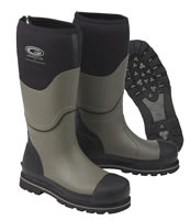 Grubs Ceramic Safety Charcoal Wellingtons