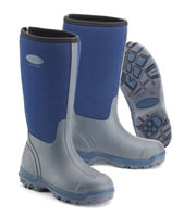Grubs Iceline Navy Wellingtons
