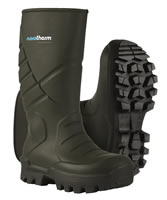 NoraTherm S5 Insulated Safety Wellingtons Green