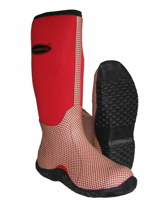 TotallyWellies.Co.Uk - Red Muck Boot Tack Wellingtons